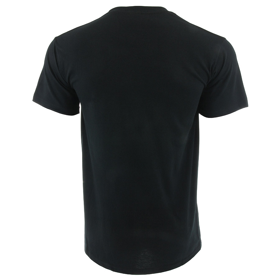Plain Black T Shirt Template